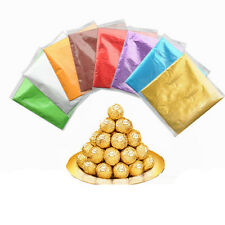 100x Candy Foils Bon-Bons Chocolates Favors Lollies Wrappers Sweets Lollies 1WA