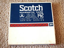 """One Scotch 7"""" inch Reel to Reel Tape 1800 feet ft"""