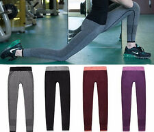 Womens Wear Gym Fitness New Compression Leggings Workout Yoga Pants Trousers