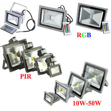 High Power 10W 20W 30W 40W 50W LED RGB Flood Spotlight Outdoor Garden Light Lamp