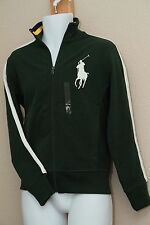Polo Ralph Lauren Big Pony College Varsity Baseball Jacket NWT GREEN