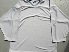 GRAY Authentic / Midweight BLANK Mens Boys League Travel Hockey Practice Jersey