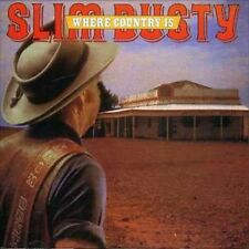 Where Country Is - Dusty,Slim New & Sealed CD-JEWEL CASE Free Shipping