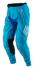 NEW 2017 TROY LEE DESIGNS TLD MOTO DIRT SE STARBURST PANTS BLUE/CYAN ALL SIZES