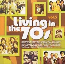 Living in the 70s Volume 3 New & Sealed CD-JEWEL CASE Free Shipping