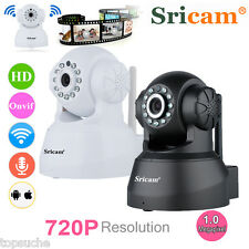 720P HD Wireless Wifi CCTV Home Security IR NightVision IP Network Camera Webcam