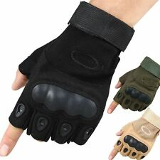Tactical Cycling Gloves Half Finger Military Outdoor Sports Bicycle Bike Riding
