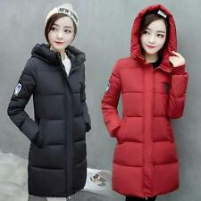 Hot Fashion Winter Women Long Hooded Jacket Warm Down Parka Coat Outerwear