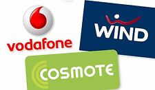 Prepaid SiM Card-Greece & €15 voucher & 1GByte Free for 1month & 200m to ALL