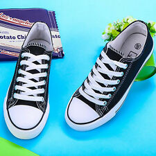HOT Women Lady Chuck Taylor Ox Low High Top shoes casual Canvas Sneakers FT