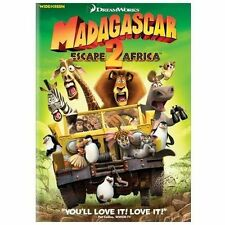 Madagascar: Escape 2 Africa (DVD, 2009, Sensormatic Widescreen)