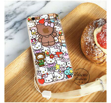 Fashion Original Adorable Hello Kitty Bear Hard Case Cover For iPhone 6 6s Plus