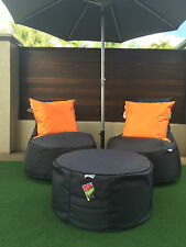 Outdoor Cushion Cover Water & Mould resistant UV rating 5 by Adora Bean Bags