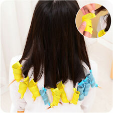 18Pcs Hair Rollers DIY Curlers Large Magic Circle Twist Spiral Styling Tools Hot