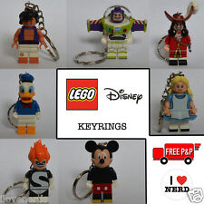 Lego Disney Minifigure Keyrings Key Chainsn 71012 - Buzz Lightyear Mickey Mouse