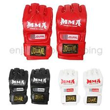 MMA UFC Grappling Thai Fight Gloves Boxing Punch Bag Training Pads Half Mitts