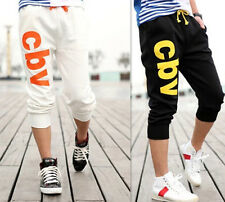 2016 Cotton New Gym Trousers Jogging Casual Shorts Pants Sport Men's