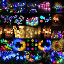 Waterproof 10/20/50LED Solar Power String Lights for Xmas Christmas Party Decor