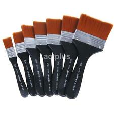 1X Wooden Art Painting Brush Acrylic Oil Watercolor Artist Paint Brush Dulcet UK