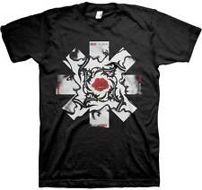 RED HOT CHILI PEPPERS LED BSSM BLACK ASTERISK LOGO MUSIC T TEE SHIRT S-2XL