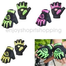Men Women Fingerless Cycling Bicycle Gloves Half Finger Silicone Gel Padded Palm