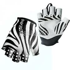 QEPAE Half Finger Cycling Gloves Short Bicycle Bike MTB Riding Gloves - S/M/L/XL