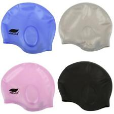 Flexible Silicone Adult Waterproof Swimming Swim Bathing Cap Hat for Men / Women