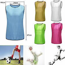 Sports Soccer Football Basketball Rugby Training Bib Vest Youth Adult Clothes