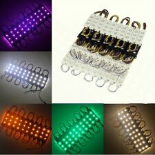 6819 3LED Module Light SMD 5050 Injection Cool/Wam White RGB Waterproof DC 12V