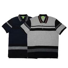 New Mens Genuine Hugo Boss Polo T Shirt Paddy 1 geen label Stripe Top 2016 Model