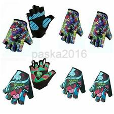 Cycling Gloves Finger Less Half Finger Gloves Bike Riding Gloves New