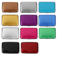 High Quality Waterproof Aluminum Metal Case Box Business ID Credit Card Holder