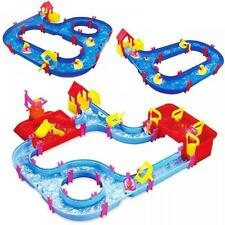 Childrens Kids Toy Aqua Play Set Floating Canal Water System Garden Beach Game