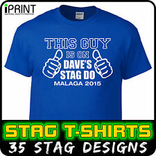 Stag T-Shirts, Do, Night, Party, Hen, Personalised, Printing, Custom, Printed l1