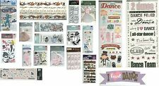 DANCE DANCER DANCING JAZZ TAP BALLET BALLROOM HIP HOP SCHOOL Stickers U Pick