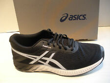 ASICS MENS FUZEX LYTE RUNNING SHOES-SNEAKERS -T620N-9001 -BLACK/ WHITE/ ONYX