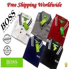 HUGO BOSS NEW Men's T-Shirt Polo Collar 100% Cotton Short Sleeve Luxury Branded