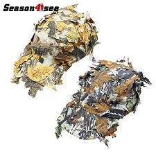 Outdoor Military Cap with Bionic Leaf Fast Dry Camo Hunting Snipper hunting Hat