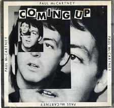 """Coming Up Paul McCartney and Wings 7"""" vinyl single record USA promo 1-11263"""