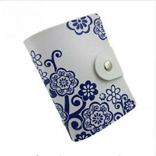 ID Credit Card Creative Box New Gift Holder Business Card Case Leather