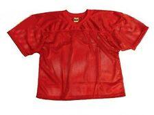New ProMark Football Lacrosse Youth Waist Length Poly Mesh Practice Jersey RED