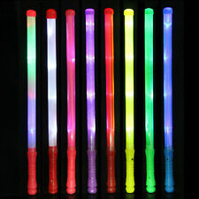Wand LED Glow Flashing Light Up Stick Patrol Blinking Concert Party FavorsX1 QTG