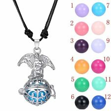 New Sounds Bell Locket Chimes Ball Angel Pendant Pregnant Necklace Gift Jewelry