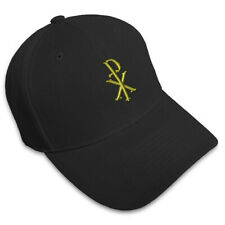 NAME OF CHRIST GOD JESUS Embroidery Embroidered Adjustable Hat Baseball Cap