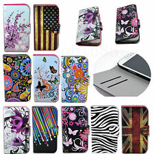 Slots Card Wallet Fold Leather Cover Case For Samsung Galaxy S3 S4 S5 Note 3 III