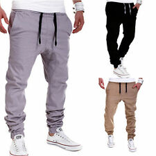 Fashion Men's Sweatpants Harem Pants Slacks Casual Jogger Dance Baggy Trousers