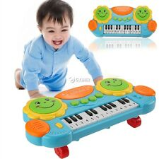 Electronic Baby Kids Music Instrument Toy Battery Organ Keyboard Hand Beat DZ88
