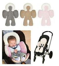 Reversible Baby Stroller Body Support Pad Mat Car Seat Head Support Soft Cushion