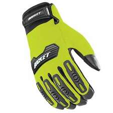 Joe Rocket Velocity 2.0 Mens Textile Motorcycle Gloves  Hi Viz Yellow/Black