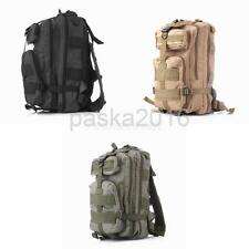 25L Nylon Outdoor Hiking Camping Bag Army Military Tactical Rucksack Backpack